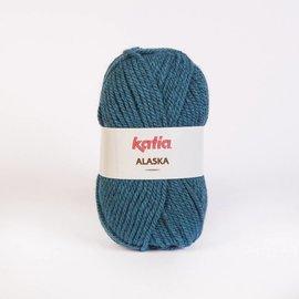 Katia Alaska 36 100% Acrylwol Petrolblauw
