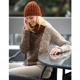 Katia Patroon Muts in Katia Merino Tweed