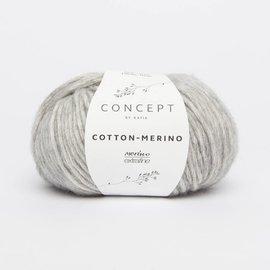 Katia Cotton Merino 106 Lichtgrijs