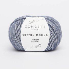 Katia Cotton Merino 115 Blauw
