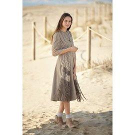 Katia Gratis haakpatroon sjaal in Katia Silky Lace