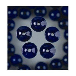 Houten Kralen - Blauw
