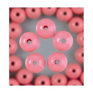 Houten Kralen - Roze