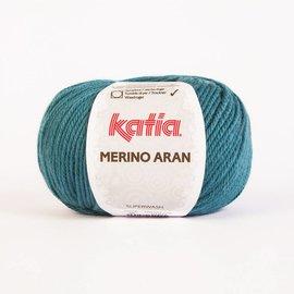 Katia Merino Aran 56 - Groenblauw
