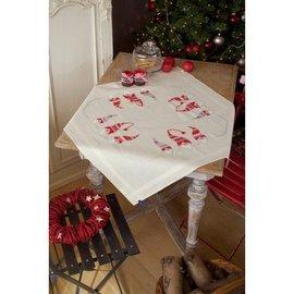 Vervaco Tafelkleed Kerstkaboutertjes