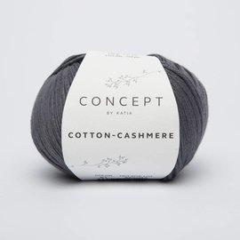 Katia Cotton Cashmere 61 Donkergrijs