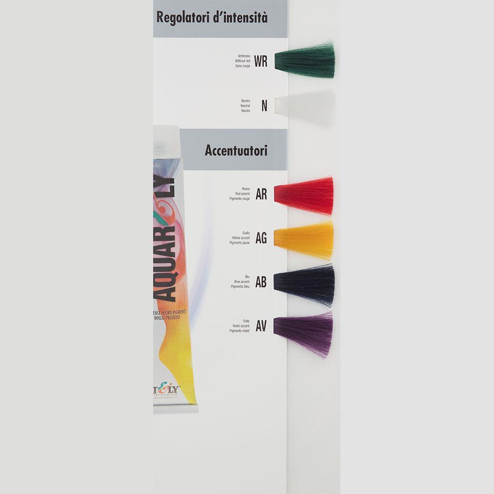 Itely Aquarely Itely Haarverf - Itely Aquarely - Haarkleur Neutraal mix tint kleurloos (N) - Itely Hairfashion