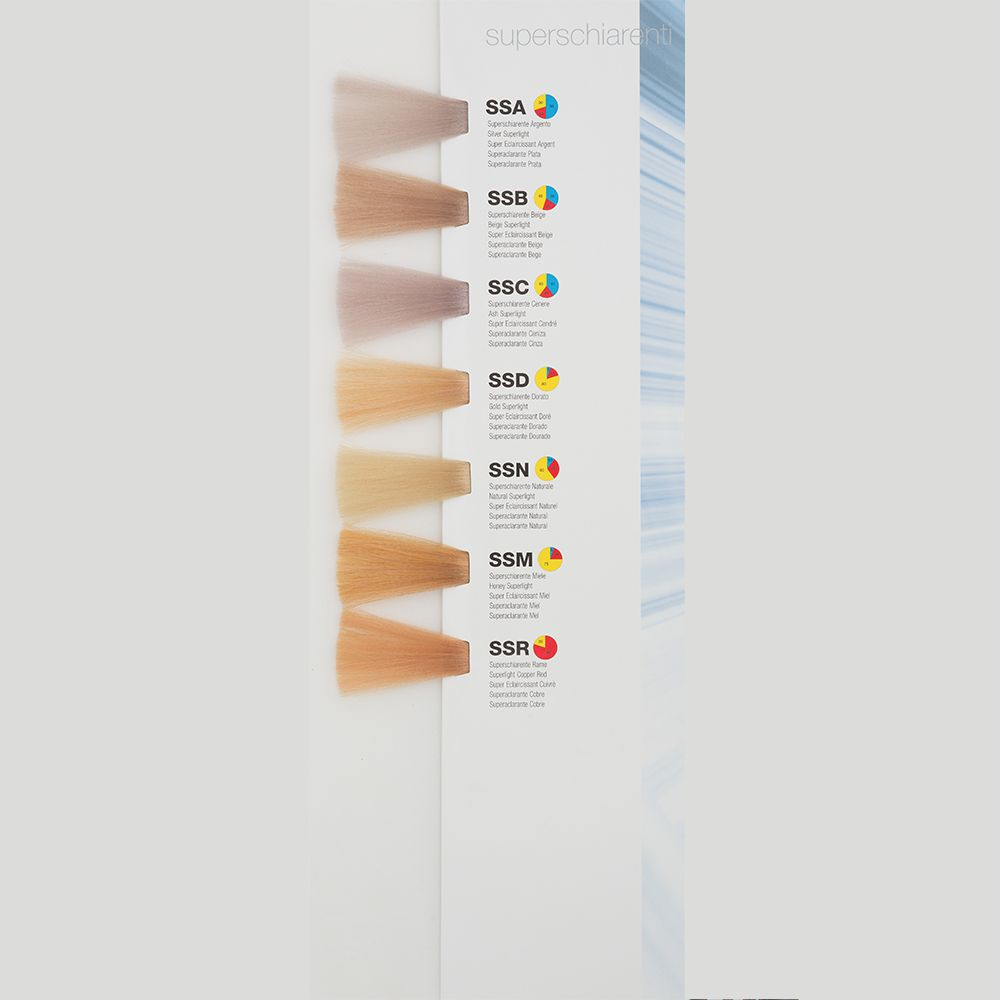 Itely Colorly 2020 acp Itely Haarverf - Itely Colorly 2020 acp - Haarkleur Super licht blond cendre as (SSC) - Itely Hairfashion