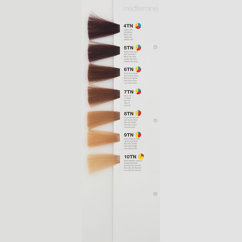Itely Colorly 2020 acp Itely Haarverf - Itely Colorly 2020 acp - Haarkleur Licht bruin tabak natuur (5TN) - Itely Hairfashion