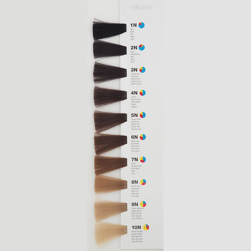 Itely Colorly 2020 acp Itely Haarverf - Itely Colorly 2020 acp - Haarkleur Licht bruin (5N) - Itely Hairfashion