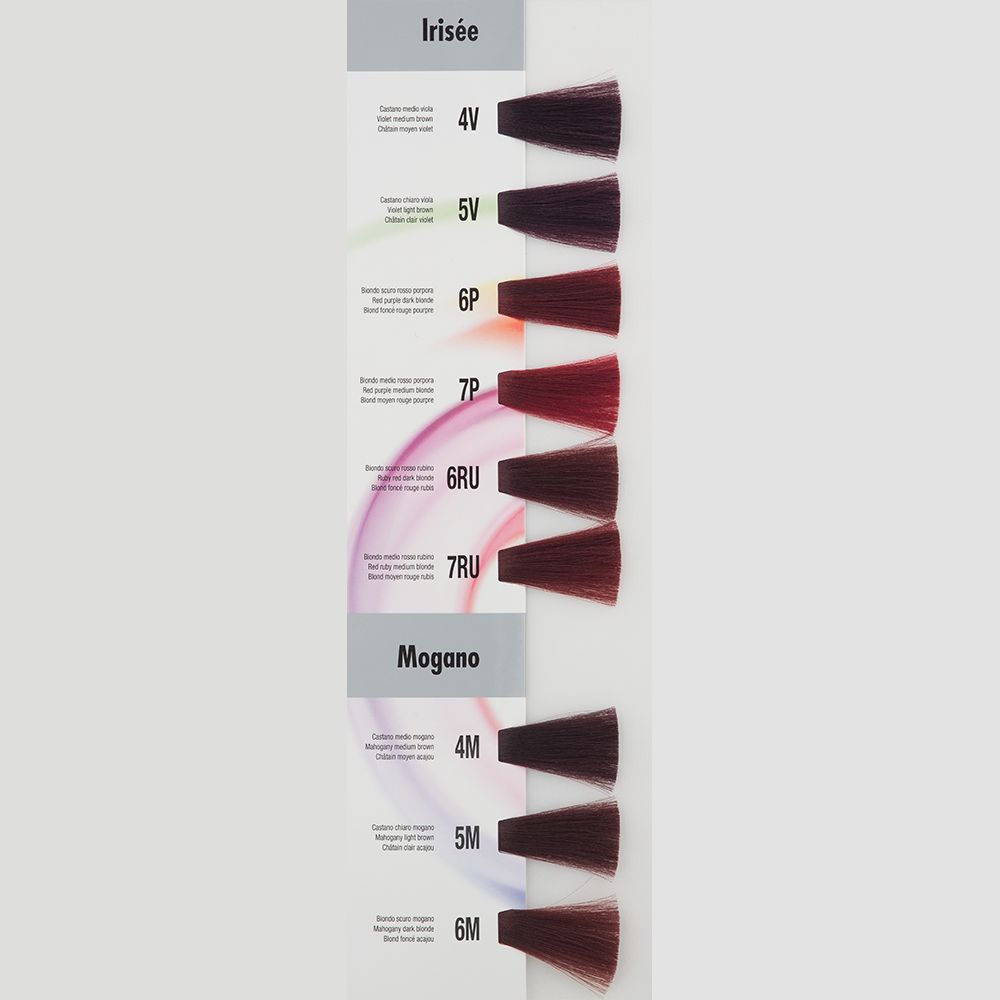 Itely Aquarely Itely Haarverf - Itely Aquarely - Haarkleur Donker purper rood blond (6P) - Itely Hairfashion