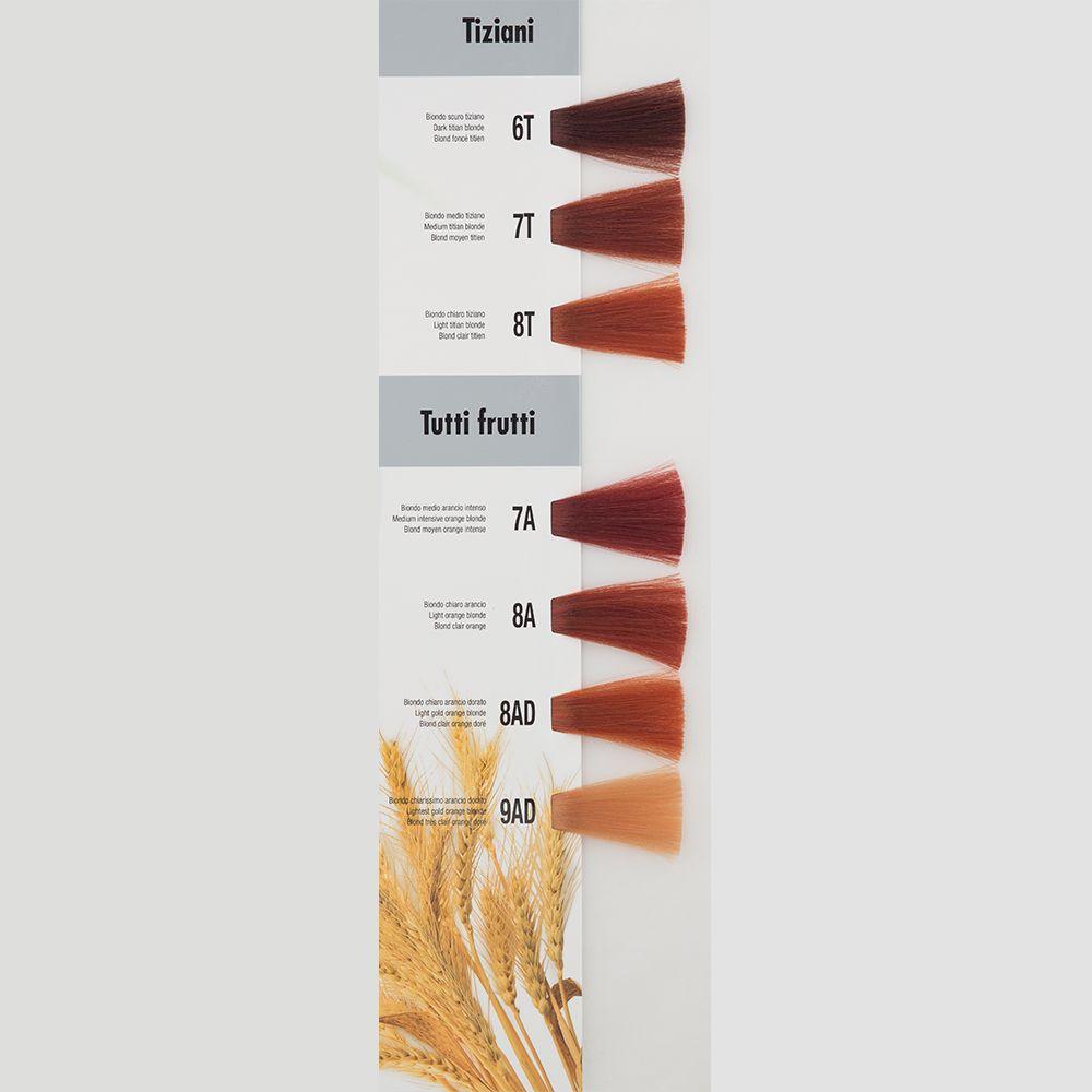Itely Aquarely Itely Haarverf - Itely Aquarely - Haarkleur Zeer licht sinaasappel goud rood blond (9AD) - Itely Hairfashion