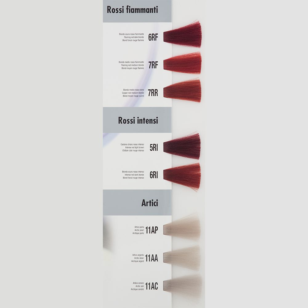 Itely Aquarely Itely Haarverf - Itely Aquarely - Haarkleur Midden vlammend rood blond (7RF) - Itely Hairfashion