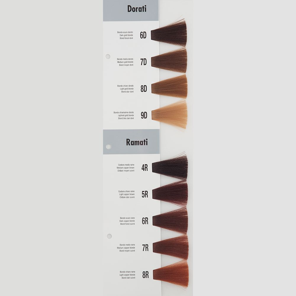 Itely Aquarely Itely Haarverf - Itely Aquarely - Haarkleur Licht rood blond (8R) - Itely Hairfashion