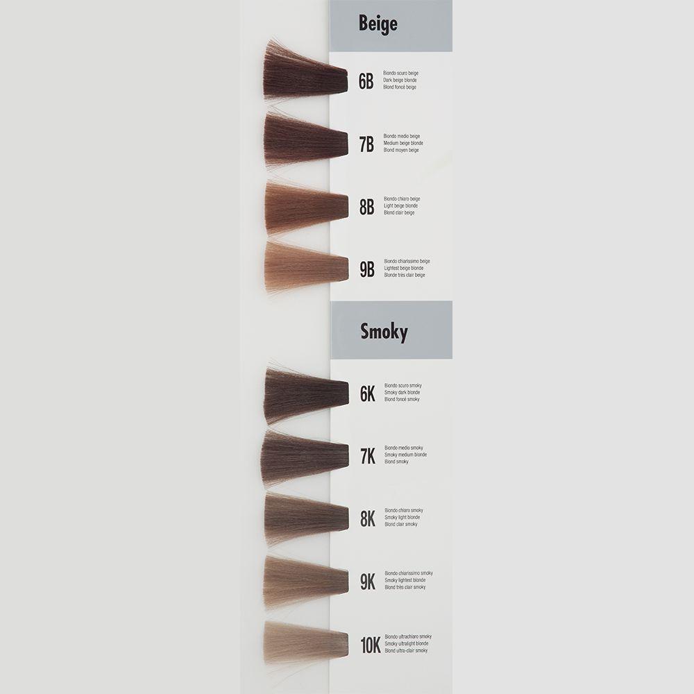 Itely Aquarely Itely Haarverf - Itely Aquarely - Haarkleur Zeer licht blond beige (9B) - Itely Hairfashion