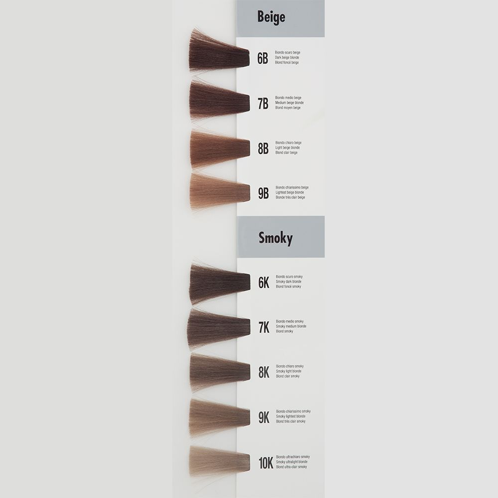 Itely Aquarely Itely Haarverf - Itely Aquarely - Haarkleur Midden blond beige (7B) - Itely Hairfashion
