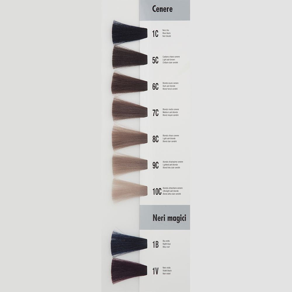 Itely Aquarely Itely Haarverf - Itely Aquarely - Haarkleur Midden blond cendre-as (7C) - Itely Hairfashion