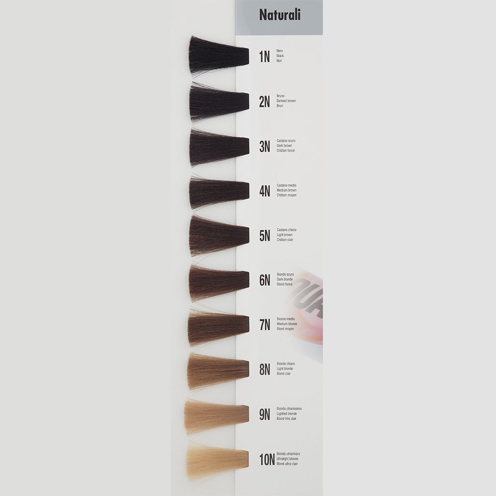 Itely Aquarely Itely Haarverf - Itely Aquarely - Haarkleur Licht bruin (5N) - Itely Hairfashion