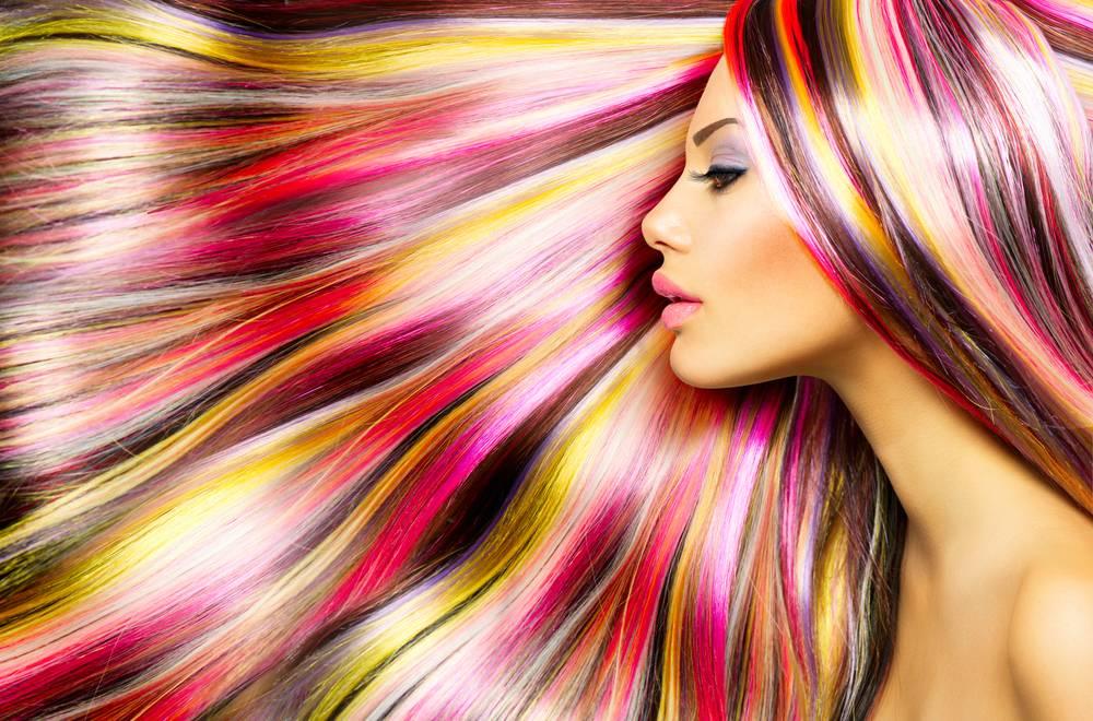 Natuurlijke kleurspoeling voor uw haar