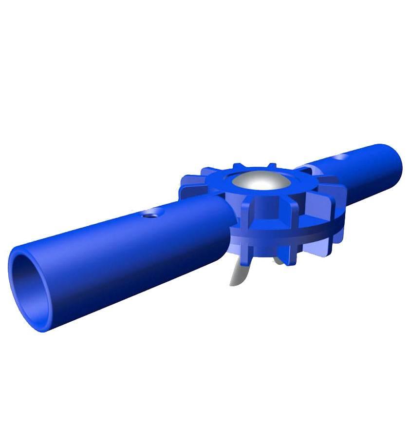 Mawiclean MAWICLEAN PVC-Rohrverbindung Winkel einstellbar