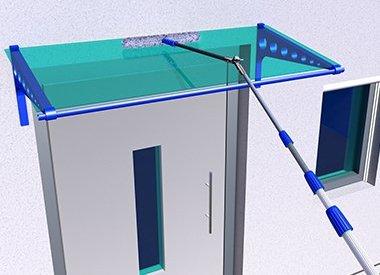 Glas-Vordächer