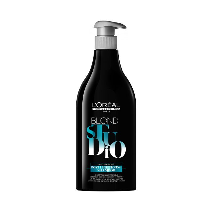 L'Oréal Blond Studio Post Lightening Shampoo 500ml