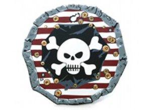 Visiodan - verkleed kleren Schild Piraat