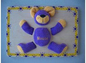Knuffelpuzzel Mouse