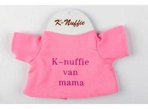 Babycase K-nuffie van mama roze