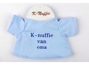 Babycase K-nuffie van oma blauw