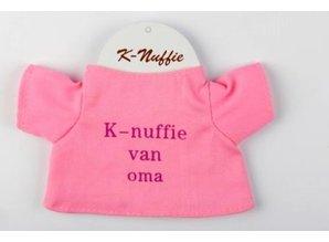 Babycase K-nuffie van oma roze