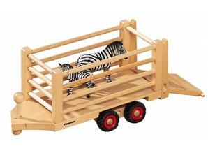 Fagus - Houten speelgoed Fagus Safari trailer