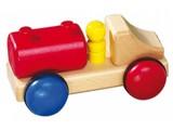 Fagus - Houten speelgoed Fagus mini tankauto