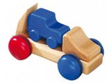 Fagus - Houten speelgoed Fagus mini autotransporter