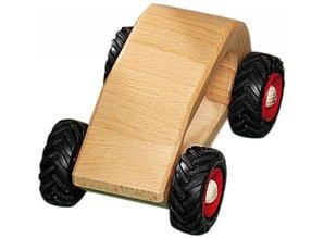 Fagus - Houten speelgoed Fagus mini Van naturel