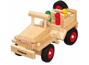 Fagus - Houten speelgoed Fagus Jeep