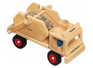 Fagus - Houten speelgoed Fagus containerauto