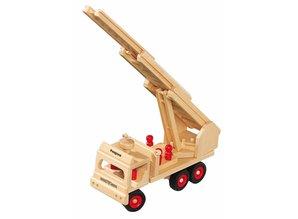 Fagus - Houten speelgoed Fagus brandweerwagen