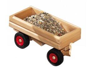 Fagus - Houten speelgoed Fagus aanhanger kiepauto