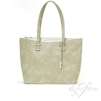 Einkaufstasche Modell B Beau Love Light Grün
