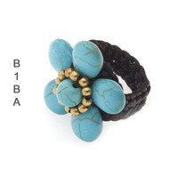 BIBA EXPERIENCE Biba Knotted Flower Ring