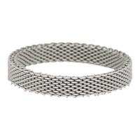 IXXXI JEWELRY RINGEN iXXXi Jewelry Vulring 0.4 cm MESH SILVER