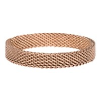 iXXXi JEWELRY MEN iXXXi Jewelry Fountain 0.4 cm MESH BROWN
