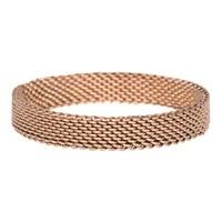 iXXXi JEWELRY MEN iXXXi Jewelry Vulring 0.4 cm MESH BROWN