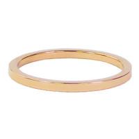 CHARMIN'S Charmin Ring Plain Rosegold Steel