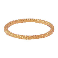 CHARMIN'S Charmins ring Snake Rosegoud Staal