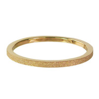 CHARMIN'S Charmins Ring Gold Steel Sanded