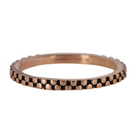 CHARMIN'S Charmins Ring Zipfel Rose Gold Stahl Stahl