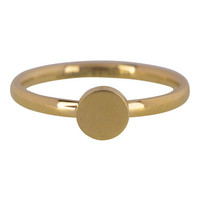 CHARMIN'S Charmins ring Fashion Seal Medium Goud Staal
