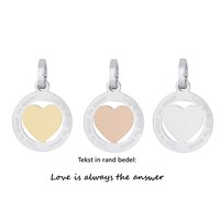 iXXXi JEWELRY IXXXI JEWELRY PENDANT LOVE IS STAINLESS STEEL